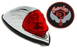 Tail Light Indian Larry Face Rear Fender Lamp 1947-1953 Chief V-Twin 33-1182  X8