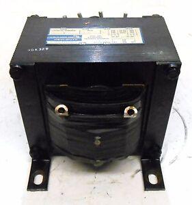 GENERAL SIGNAL HEVI-DUTY CONTROL TRANSFORMER T2000, 2.0 KVA, TYPE SMT, 480 VOLTS