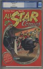 ALL-STAR COMICS 20 - CGC 4.5 - Dr. Fate and Sandman cameo - DC Comics