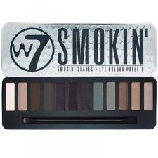 W7 Smokin Shades Eye Colour Eyeshadow Palette Tin