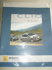 Renault Clio range brochure Jul 2005