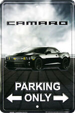 Camaro Parking Only Novelty sign 8 x 12 inches