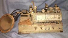 Vintage Radio PHILCO 39-25 Untested CHASSIS & Speaker