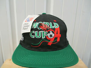 VINTAGE LOGO ATHLETIC MEXICO NATIONAL FUTBOL TEAM SEWN HAT CAP NEW W/ TAGS 1994