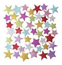 Mousse EVA paillettes étoiles autocollantes mousse Formes Craft Star Autocollant couleurs 100