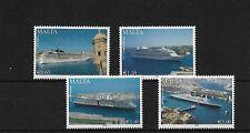 Malta SG1603/6, 2008 cruceros, estampillada sin montar o nunca montada, Gato £ 21