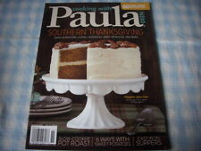 Recipe magazine, Cooking with Paula Deen, Nov. 2016, Thanksgiving, 60 recipes