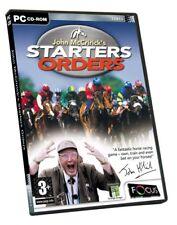 John McCriricks Starters Orders (PC)