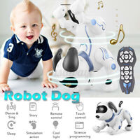 Electronic Pets Remote Control Robot Dog Puppy Educational Toy Gift For Kids ~