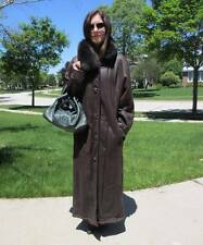 WORLD RENOWNED CHRIST SHEARLING LIGHTEST WEIGHT 38 COAT FUR JACKET