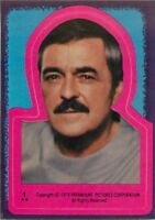 1979 TOPPS STAR TREK MOTION PICTURE STICKER - PICK / CHOOSE YOUR CARDS