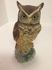 Vintage Andrea by Sadek Owl Figurine #9339