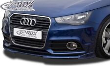 RDX Spoilerlippe für Audi A1 8X + Sportback 8XA Front Spoiler Schwert Splitter