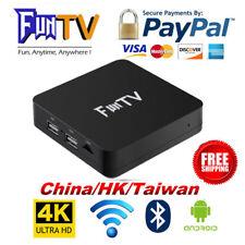 2018 FUNTV TV Box Unblock Chinese/HK/Taiwan Adult Channel HTV A1 A2 成人頻道中港台日韓美劇