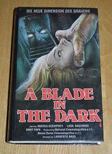 A Blade In The Dark Ex Rental German VHS Horror Pre Cert Giallo