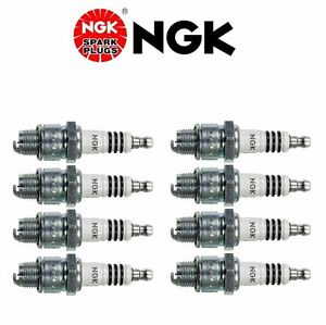 Set of 8 NGK IRIDIUM IX Resistor Performance Power Spark Plugs BR7HIX/7067
