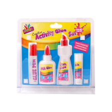 Glue Set,Glue Pen,Glue Stick,White PVA Craft Glue,Glue Spreaders Non Toxic