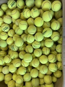 30 Used Tennis Balls - All Branded. Clean  Great Value. Good Condition  Freepost