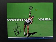 Bianca Andreescu Signed 8x10 Photo Tennis Exact Proof