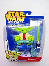 "Star Wars Jedi Force ""Yoda con pantano Stomper & Sable de Luz 'Hasbro Playskool"