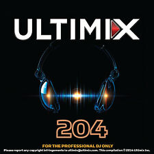 Ultimix 204 CD Ultimix Records Florida-Georgia Line Justin Timberlake  Paramore