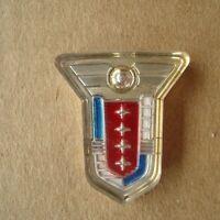 Mercury 1955 Montclair Emblem Crest Old Car Replacement Part New Old Stock Vtg