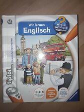 Ravensburger tiptoi Buch - Wir Lernen Englisch 4-7 Jahre