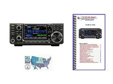 Icom IC-7300 HF/50MHz 100W Base Transceiver with Nifty! Mini Manual Bundle!!