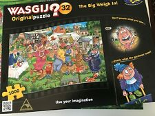 Wasgij Jigsaw Puzzle 1000 Piece Original 32 - The Big Weigh In!!