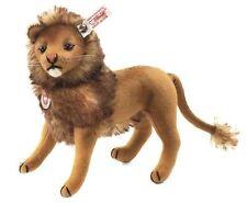 STEIFF Leo Lion 21cm EAN 035098 Wool felt Brown New Collector READ DESCRIPTION