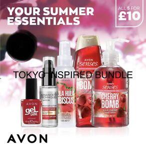 Tokyo Inspired Avon Cherry Pamper Pack Gift Set Brand New House Smells Divine 🍒