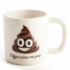 Coffee Makes Me Poop Large Mug - 600ml