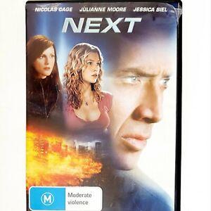 Next Movie DVD Region 4 AUS Free Postage - Scifi Action Nicolas Cage