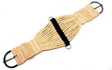 "28"" Tan Blended Cord 27 String Western Roper Girth Horse Tack"