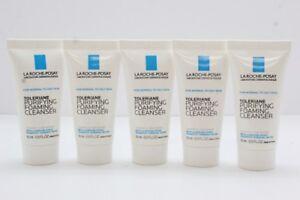 5x La Roche-Posay Toleriane Purifying Foaming Cleanser, .5 Oz Ea (EXP: 8/19)