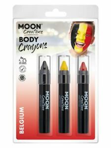 Moon Creations Body Crayons,., Facepaint/Carnival/Party Makeup