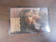 "NEW SEALED ""Lone Justice""  Cassette Tape (G)"