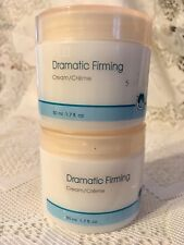 """AVON SOLUTIONS DRAMATIC FIRMING CREAM ~ """"LEAVES SKIN VISIBLY FIRMER"""" LOT OF 2"""