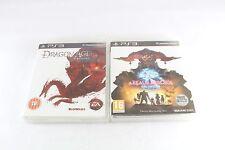 PS3 Playstation 3 Dragon Age Origins A Realm Reborn Final Fantasy Pal Great Cond