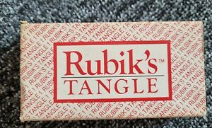 Vintage Rubiks Tangle Game No1in series of 4 Matchbox Pocket Games 1990. !!!