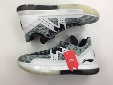 LI-NING WAY OF WADE 5 GREY CAMO SIZE 13!