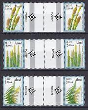 Aland postfrisch doppel Stegpaar MiNr. 187-189