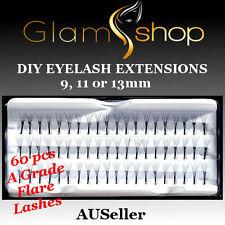 Knot free flare cluster Mink Eyelash Extensions DIY false fake eyelash extension
