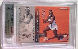 2003 Netpro International Series Elite Stars /500 Serena Williams #2 BGS 9 - RC