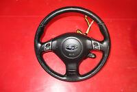 JDM Subaru Impreza OEM Momo Leather Steering Wheel & Hub GDB 1993-2007 #3408