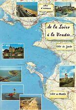 BR42665 Loire ce littoral qui du nord de la loire a vendee map cartes geographiq