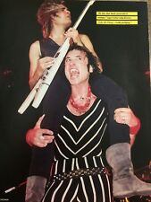 Quiet Riot, Double Full Page Vintage Pinup
