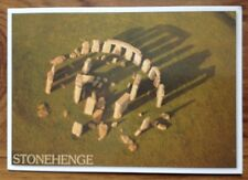 Postcard Stonehenge From the Air , Real Photo . Unposted . Free Postage