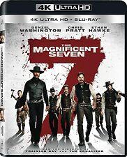 THE MAGNIFICENT SEVEN 7 (2016) (4K ULTRA HD)- Blu Ray - Region free