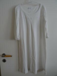HANRO  Nachthemd  Weiß Gr. XS ( 36 / 38 )  Top Zustand!!